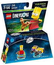 71211 Lego Dimensions Симпсоны (Fun Pack)