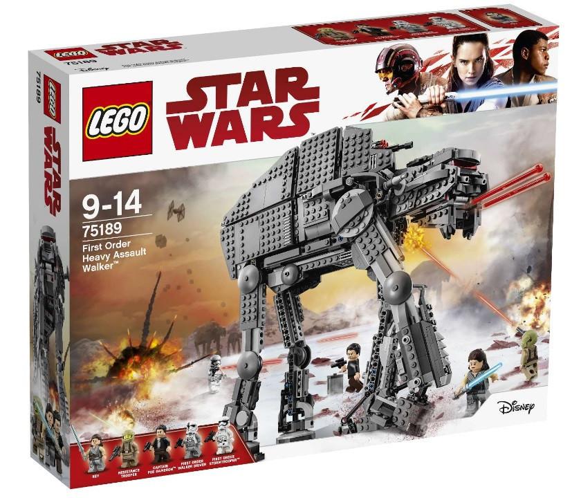 75189 Lego Star Wars Штурмовой шагоход Первого Ордена, Лего Звездные Войны