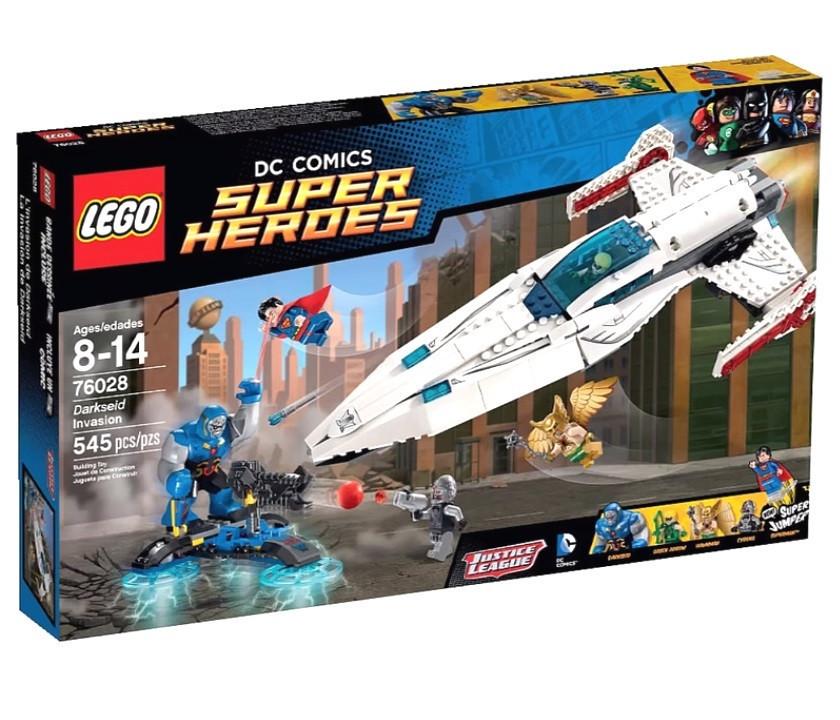 76028 Lego Super Heroes Вторжение Дарксайда, Лего Супергерои DC