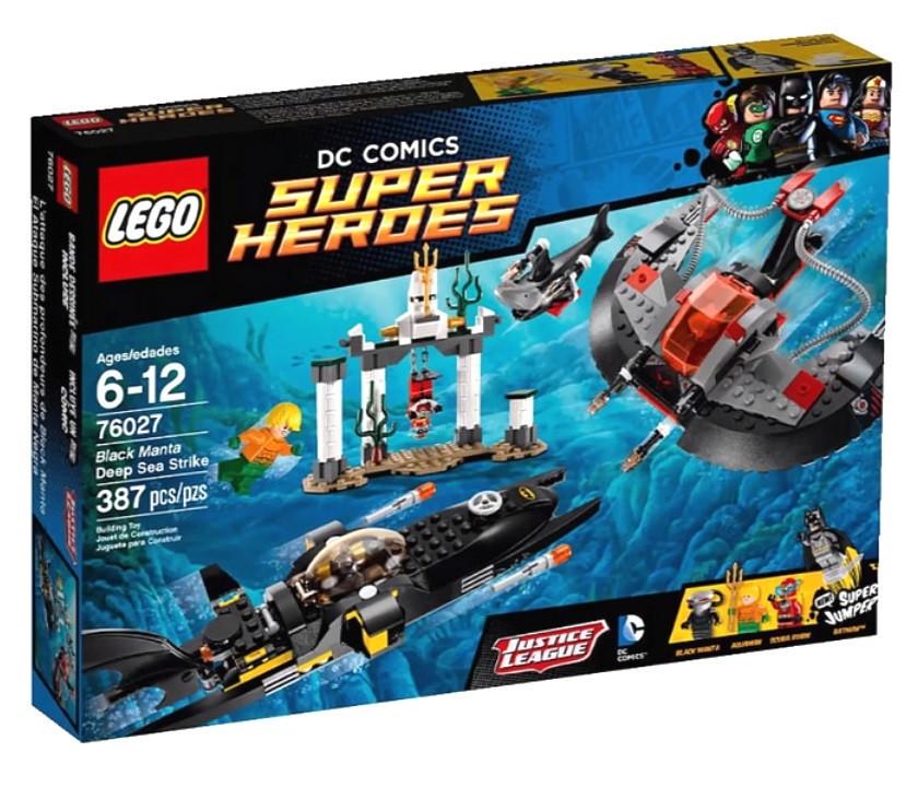76027 Lego Super Heroes Глубоководная атака Чёрной Манты, Лего Супергерои DC
