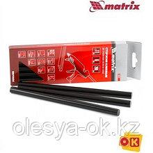Стержни клеевые 11 х 200 мм, 6 шт. (чёрные) MATRIX