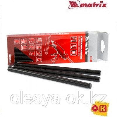 Стержни клеевые 11 х 200 мм, 6 шт. (чёрные) MATRIX, фото 2