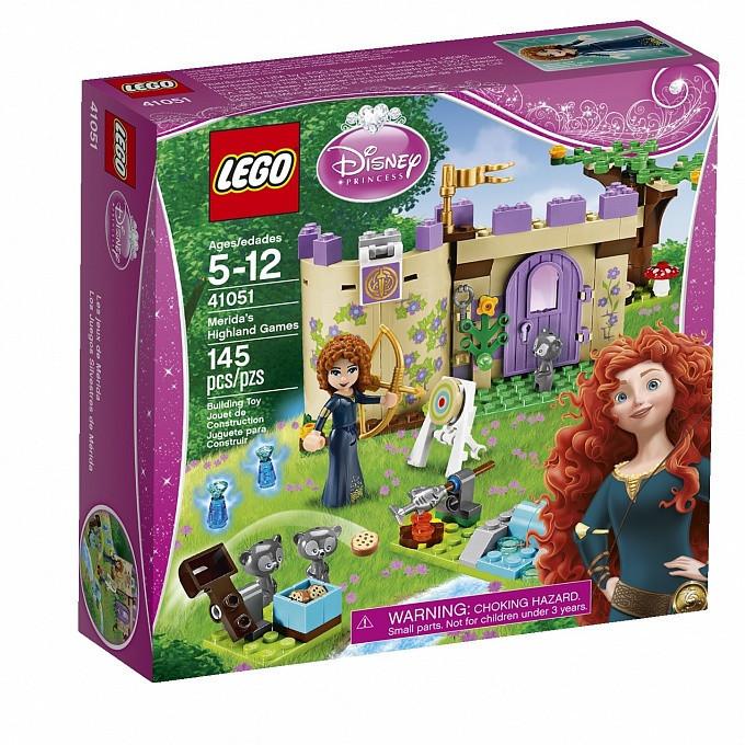 41051 Lego Disney Горные игры Мериды, Лего Принцессы Дисней