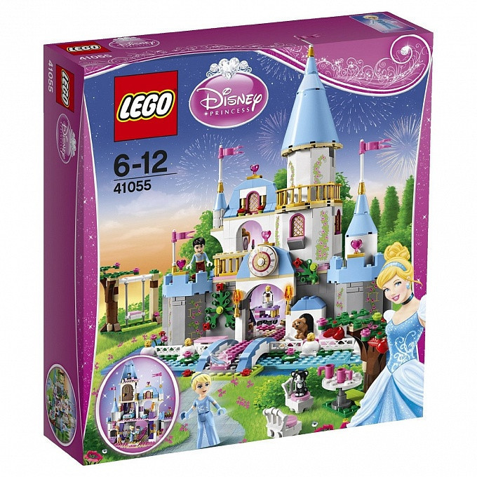 41055 Lego Disney Золушка на балу в королевском замке, Лего Принцессы Дисней