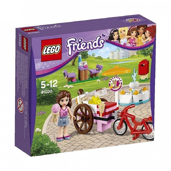 41030 Lego Friends Оливия и велосипед с мороженым, Лего Подружки