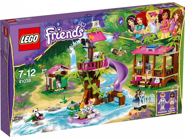 41038 Lego Friends Джунгли: Штаб спасателей, Лего Подружки