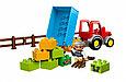 10524 Lego DUPLO Сельскохозяйственный трактор, Лего Дупло, фото 4