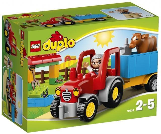 10524 Lego DUPLO Сельскохозяйственный трактор, Лего Дупло