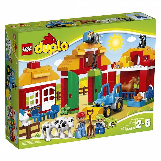 10525 Lego DUPLO Большая ферма, Лего Дупло