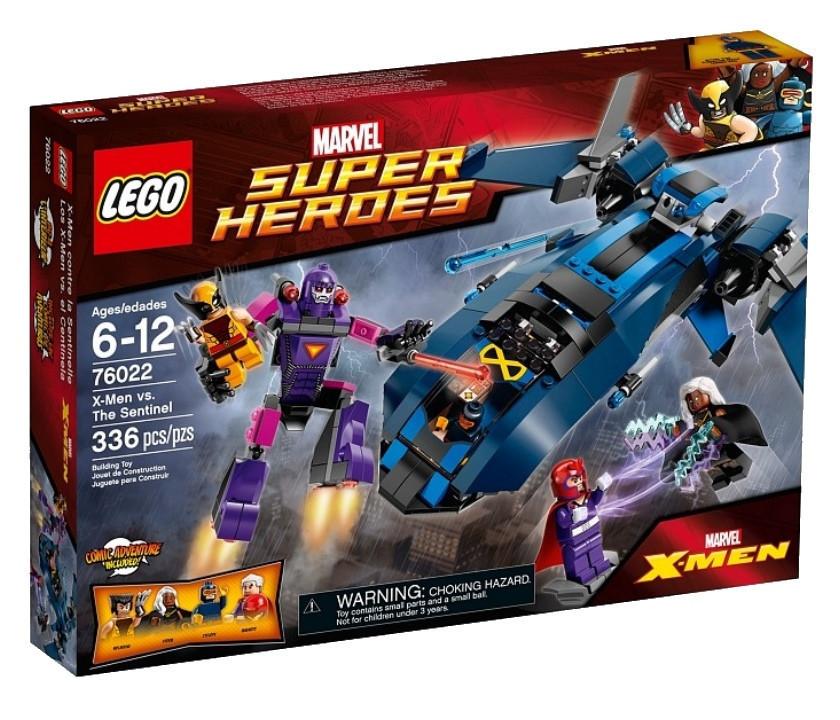 76022 Lego Super Heroes Люди Икс против Стража, Лего Супергерои Marvel
