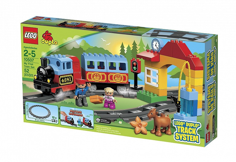 10507 Lego DUPLO Мой первый поезд, Лего Дупло