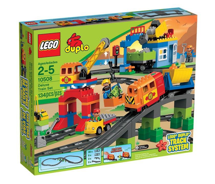 10508 Lego DUPLO Большой поезд, Лего Дупло