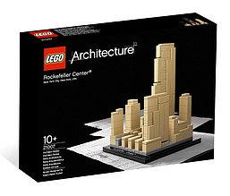 21007 Lego Architecture Рокфеллеровский центр, Лего Архитектура