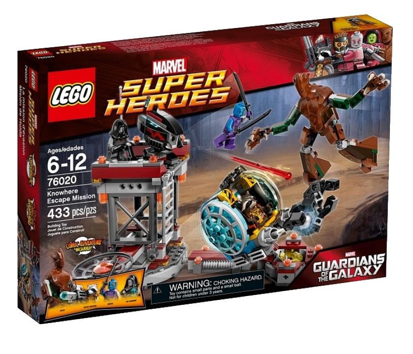 76020 Lego Super Heroes Стражи Галактики: Миссия Побег в Забвение, Лего Супергерои Marvel