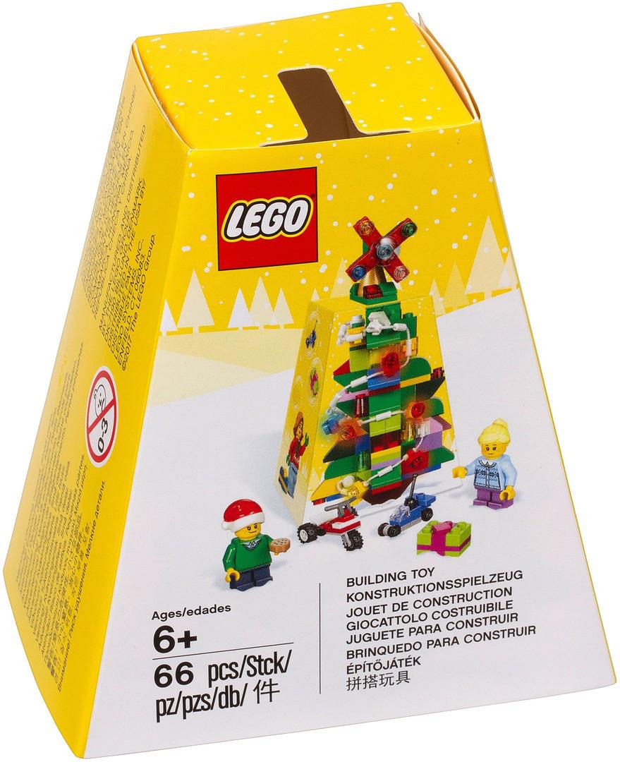 5004934 Lego Рождественский мини-набор из 66 деталей