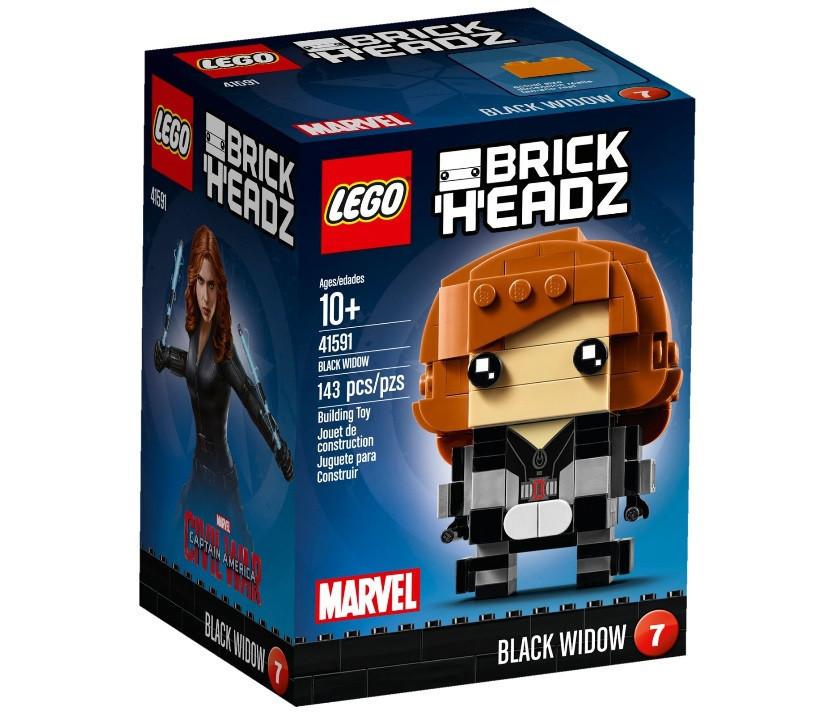 41591 Lego BrickHeadz Чёрная вдова, Лего БрикХедз