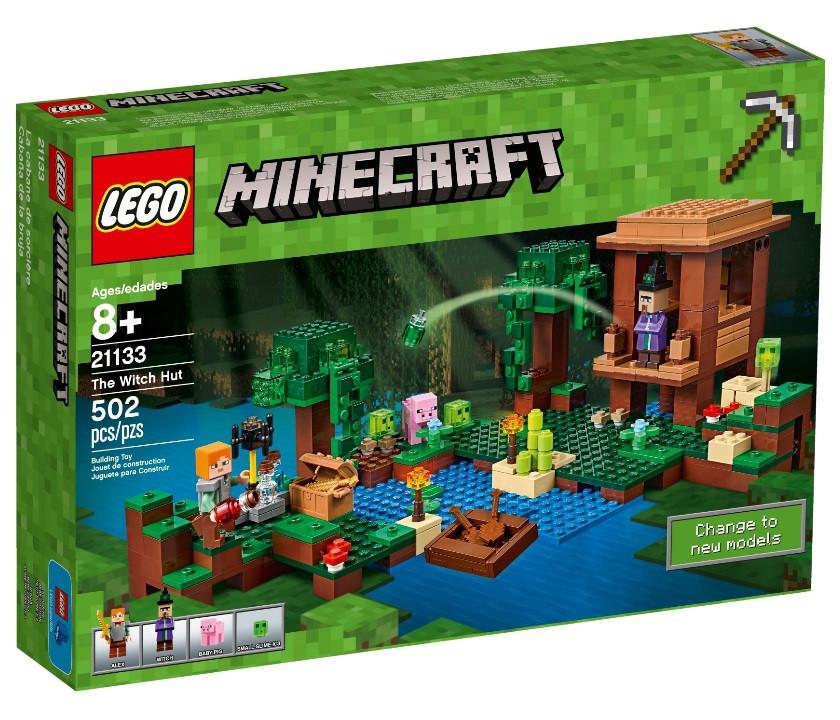 21133 Lego Minecraft Хижина ведьмы, Лего Майнкрафт