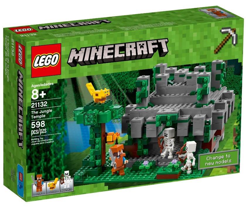 21132 Lego Minecraft Храм в джунглях, Лего Майнкрафт