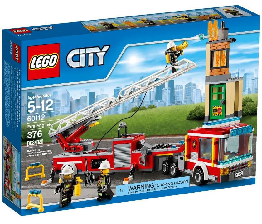 60112 Lego City Пожарная машина, Лего Город Сити