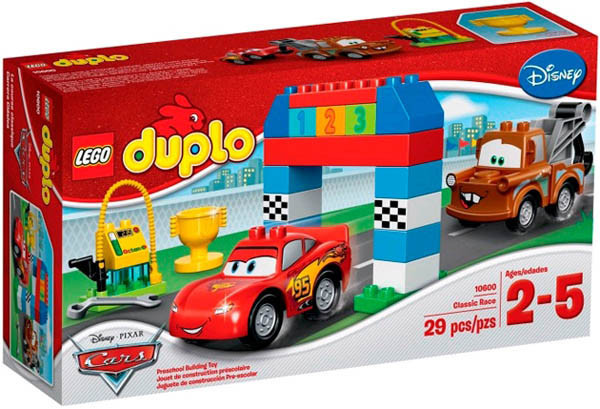 10600 Lego DUPLO Гонки на Тачках, Лего Дупло