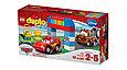 10600 Lego DUPLO Гонки на Тачках, Лего Дупло, фото 2