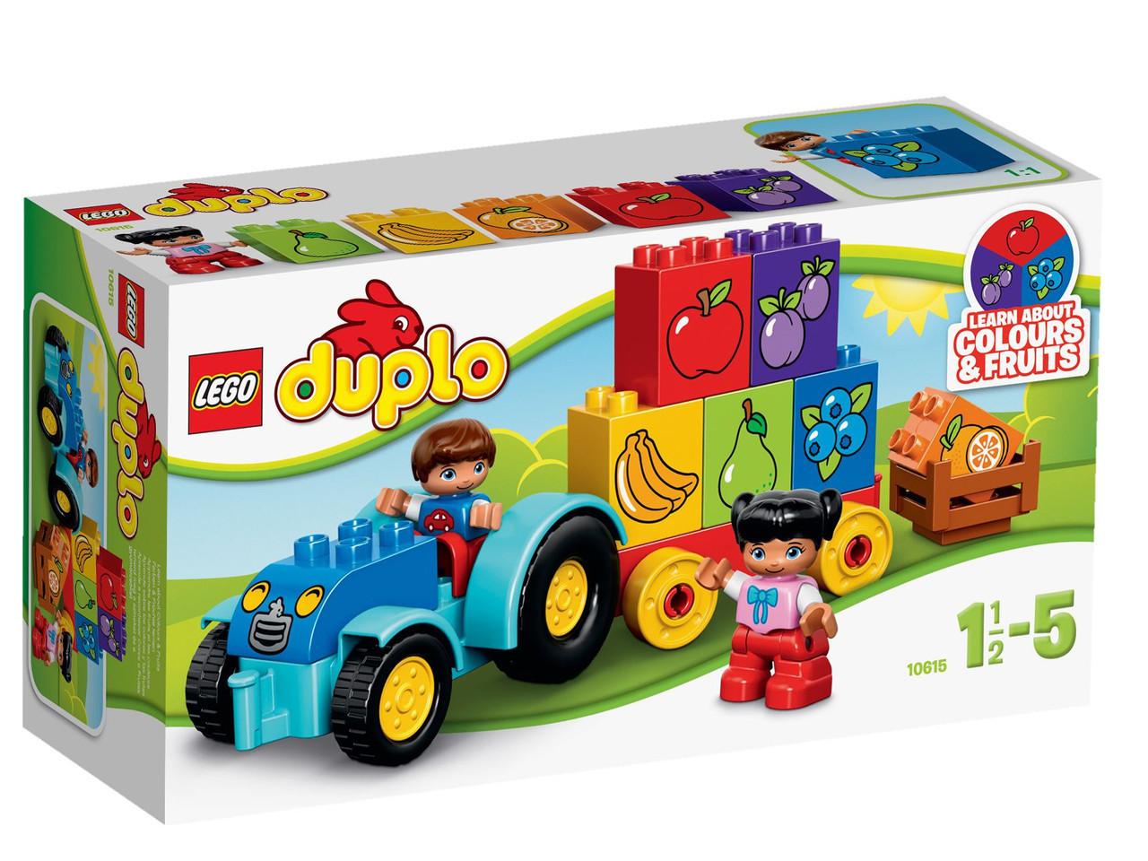 10615 Lego DUPLO Мой первый трактор, Лего Дупло