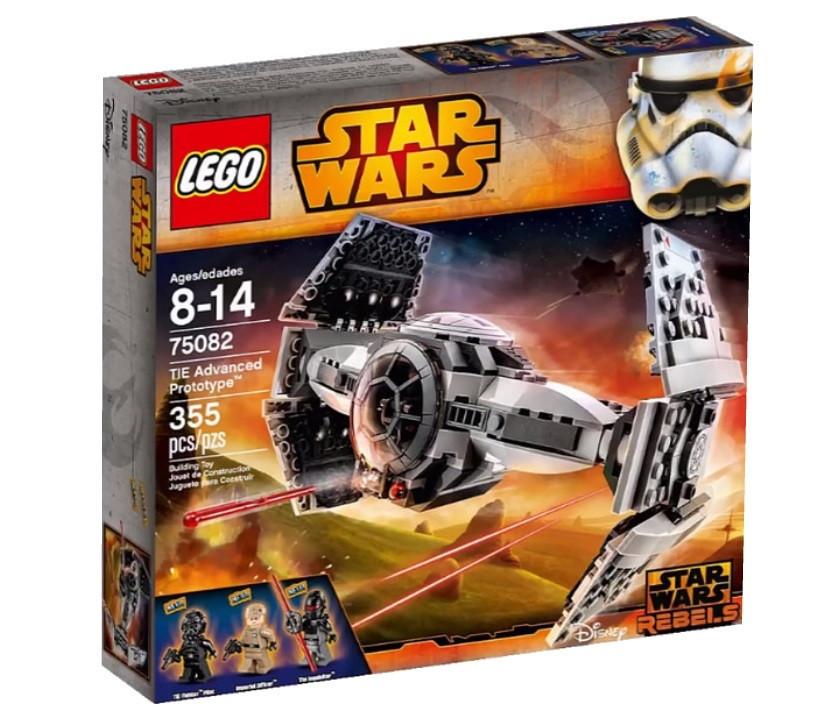 75082 Lego Star Wars Rebels Улучшенный Прототип TIE Истребителя™, Лего Звездные войны