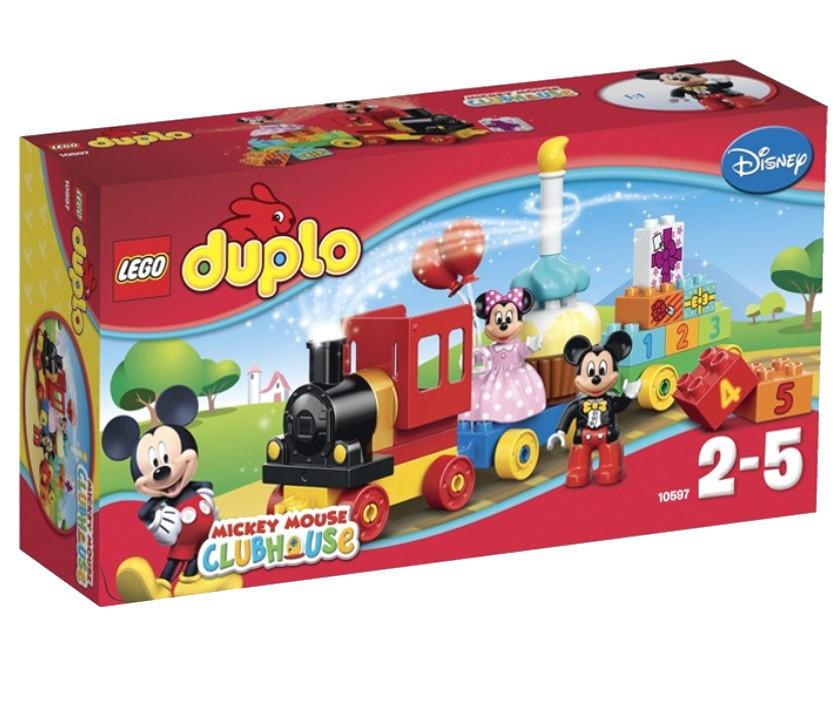 10597 Lego DUPLO День рождения с Микки и Минни, Лего Дупло
