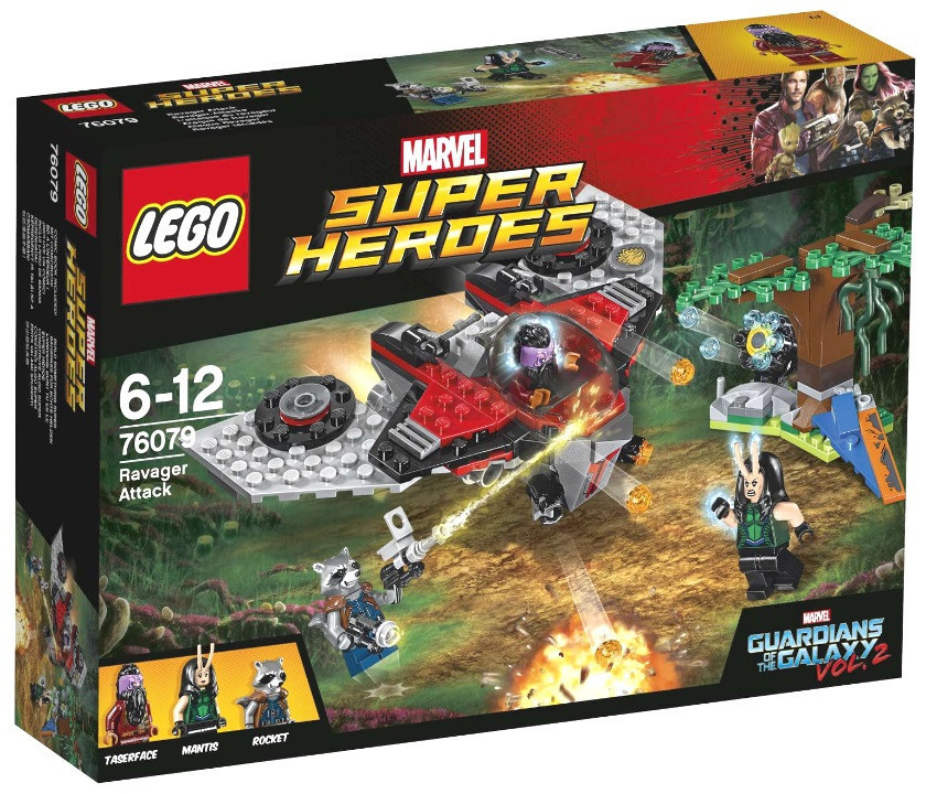 76079 Lego Super Heroes Нападение Тазерфейса, Лего Супергерои Marvel