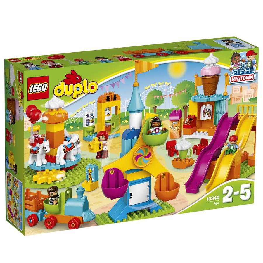 10840 Lego Duplo Большой парк аттракционов, Лего Дупло