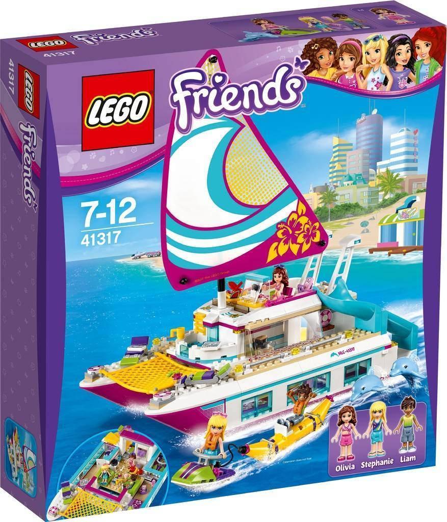 41317 Lego Friends Катамаран Саншайн, Лего Подружки