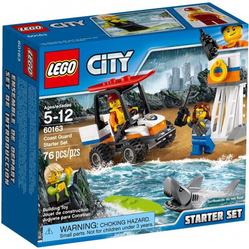 60163 Lego City Набор для начинающих Береговая охрана, Лего Город
