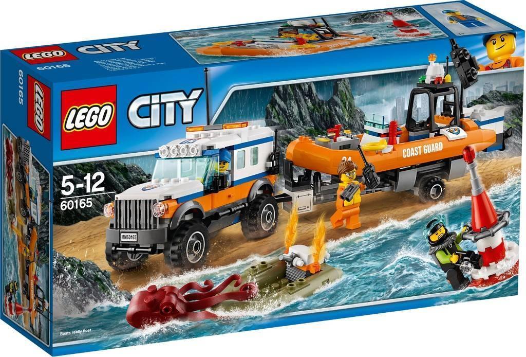 60165 Lego City Внедорожник 4х4 команды быстрого реагирования, Лего Город