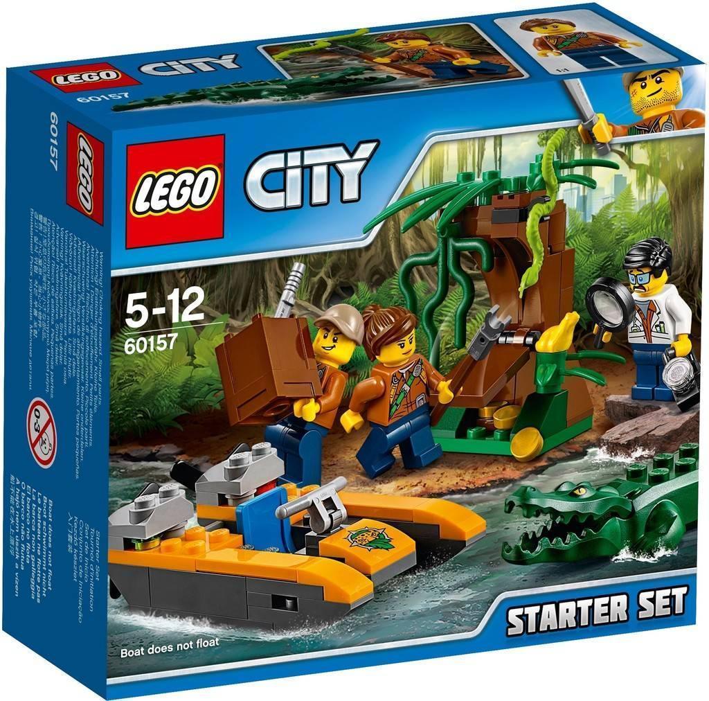 60157 Lego City Набор Джунгли для начинающих, Лего Город