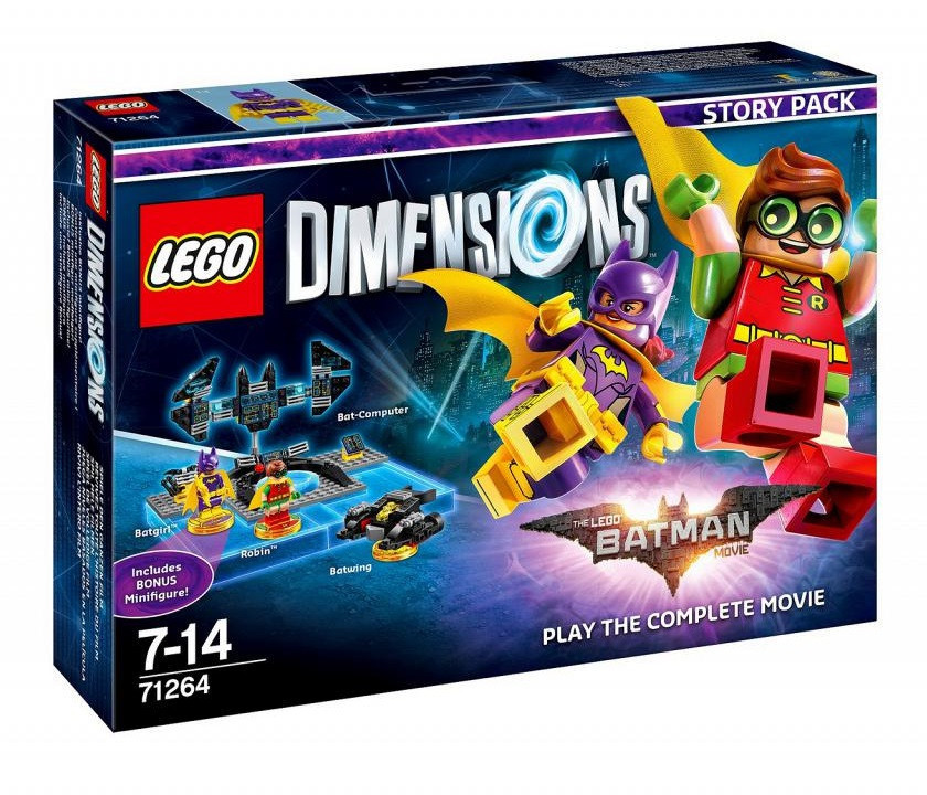 71264 Lego Dimensions Лего Фильм: Бэтмен (Story Pack)