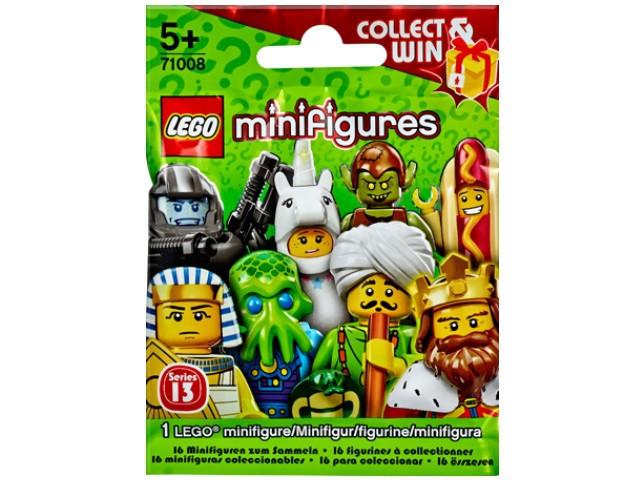 71008 Lego Минифигурка 13-й выпуск (неизвестная, 1 из 16 возможных)
