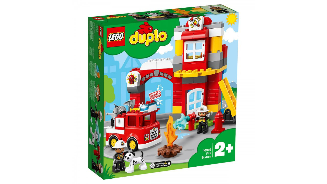 10903 Lego Duplo Пожарное депо, Лего Дупло