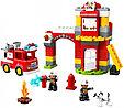 10903 Lego Duplo Пожарное депо, Лего Дупло, фото 2