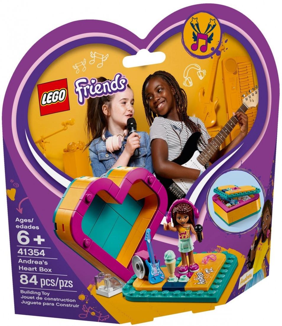 41354 Lego Friends Шкатулка-сердечко Андреа, Лего Подружки