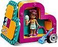 41354 Lego Friends Шкатулка-сердечко Андреа, Лего Подружки, фото 4