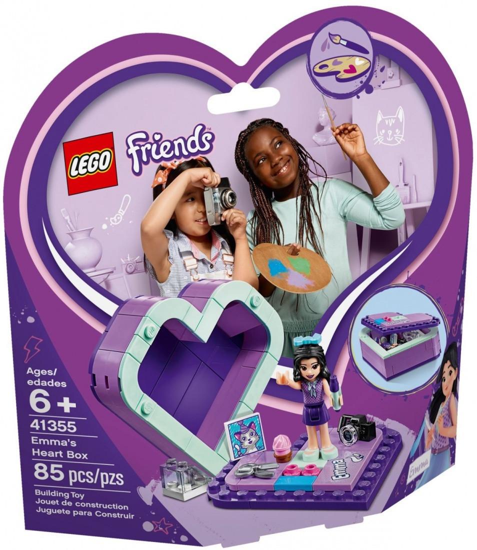 41355 Lego Friends Шкатулка-сердечко Эммы, Лего Подружки