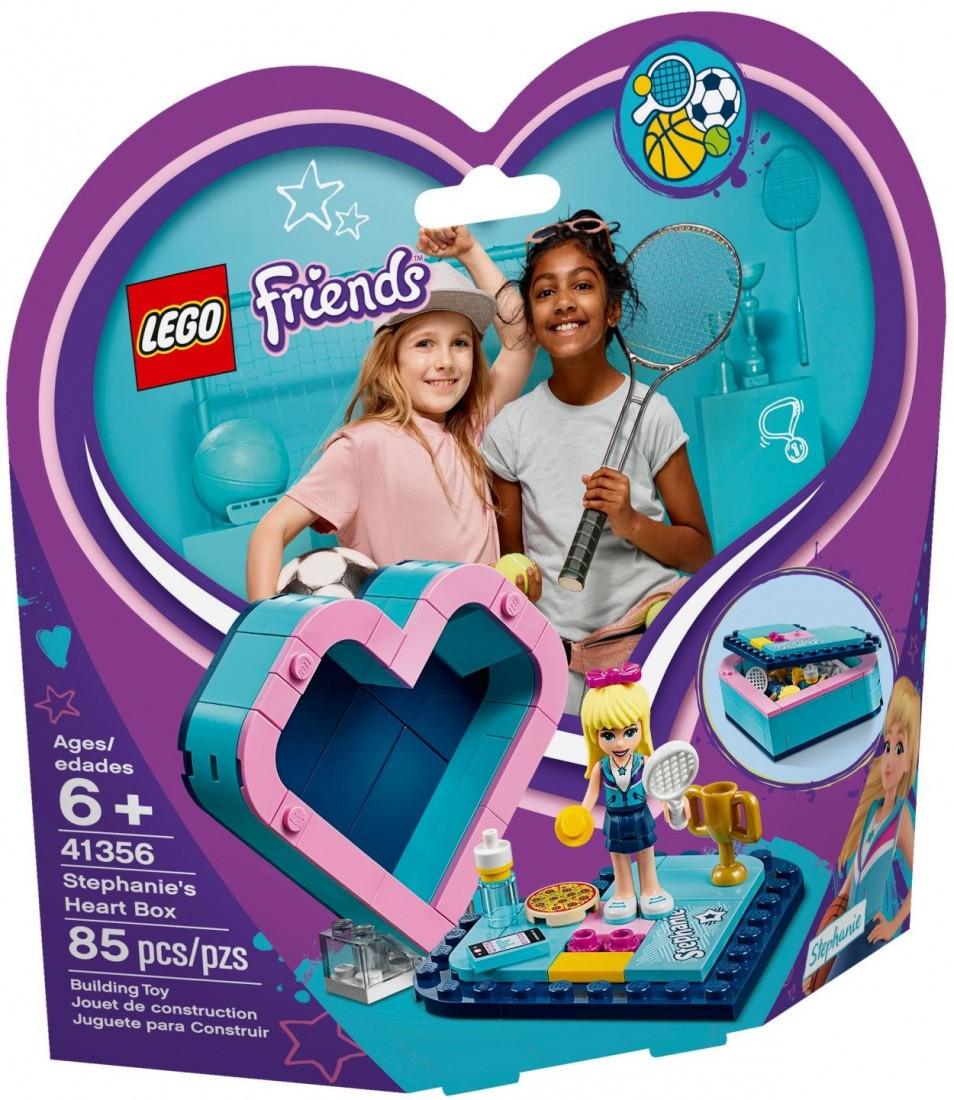 41356 Lego Friends Шкатулка-сердечко Стефани, Лего Подружки