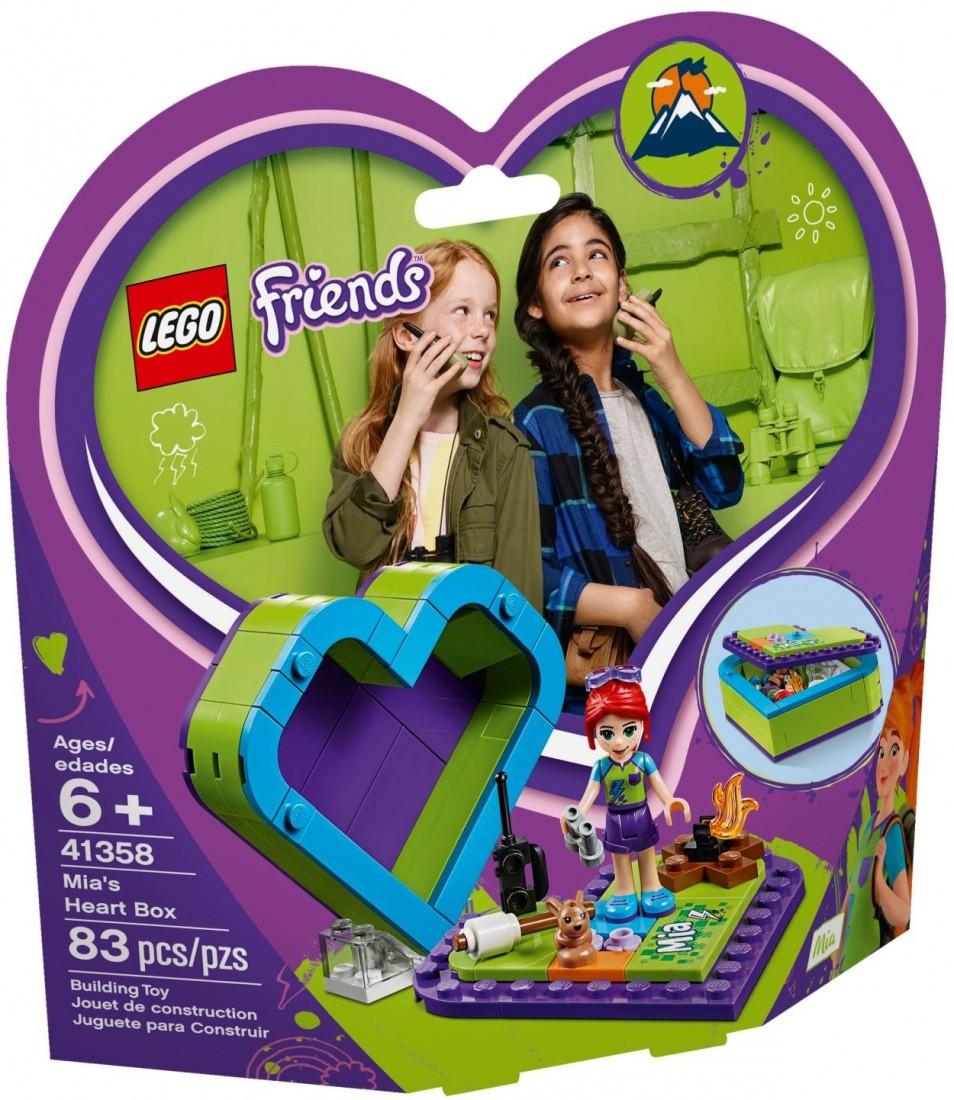 41358 Lego Friends Шкатулка-сердечко Мии, Лего Подружки
