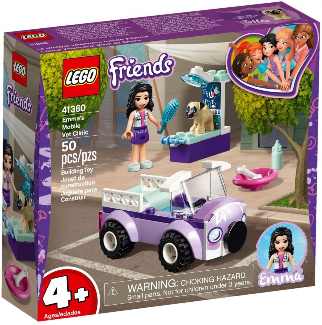 41360 Lego Friends Передвижная ветклиника Эммы, Лего Подружки