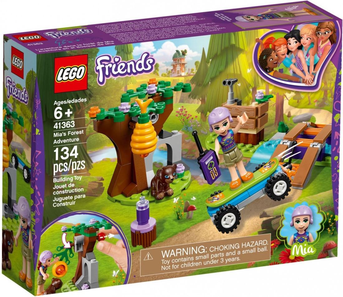 41363 Lego Friends Приключения Мии в лесу, Лего Подружки