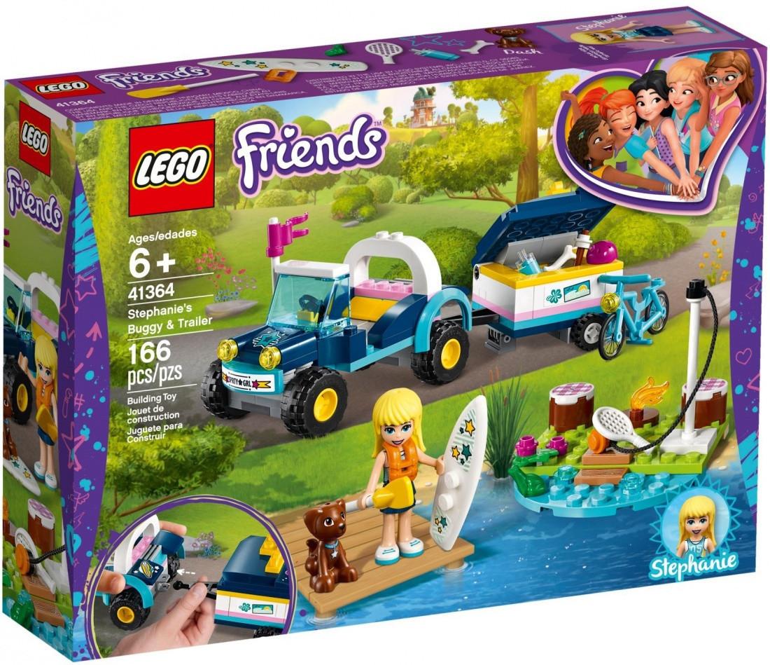 41364 Lego Friends Багги с прицепом Стефани, Лего Подружки