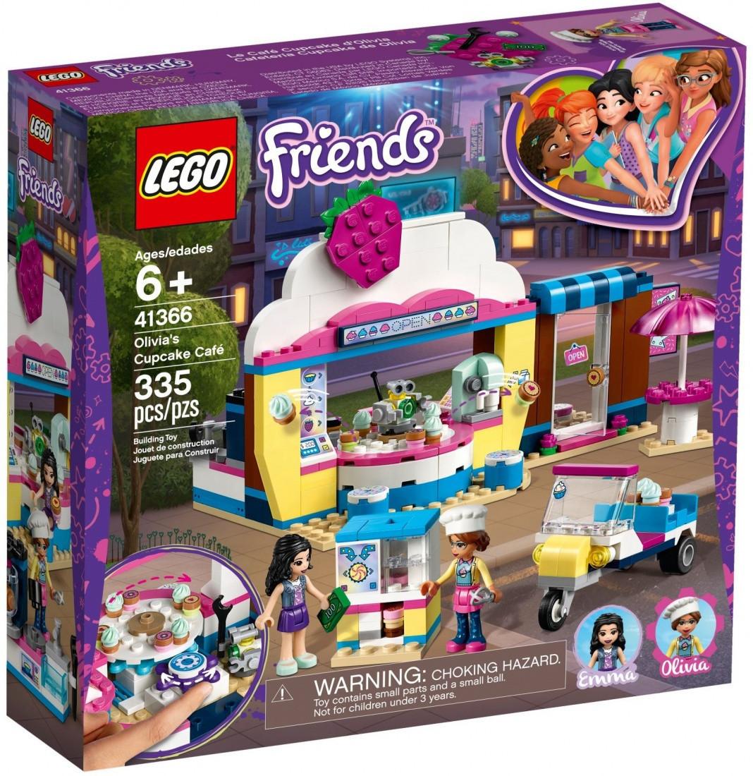 41366 Lego Friends Кондитерская Оливии, Лего Подружки