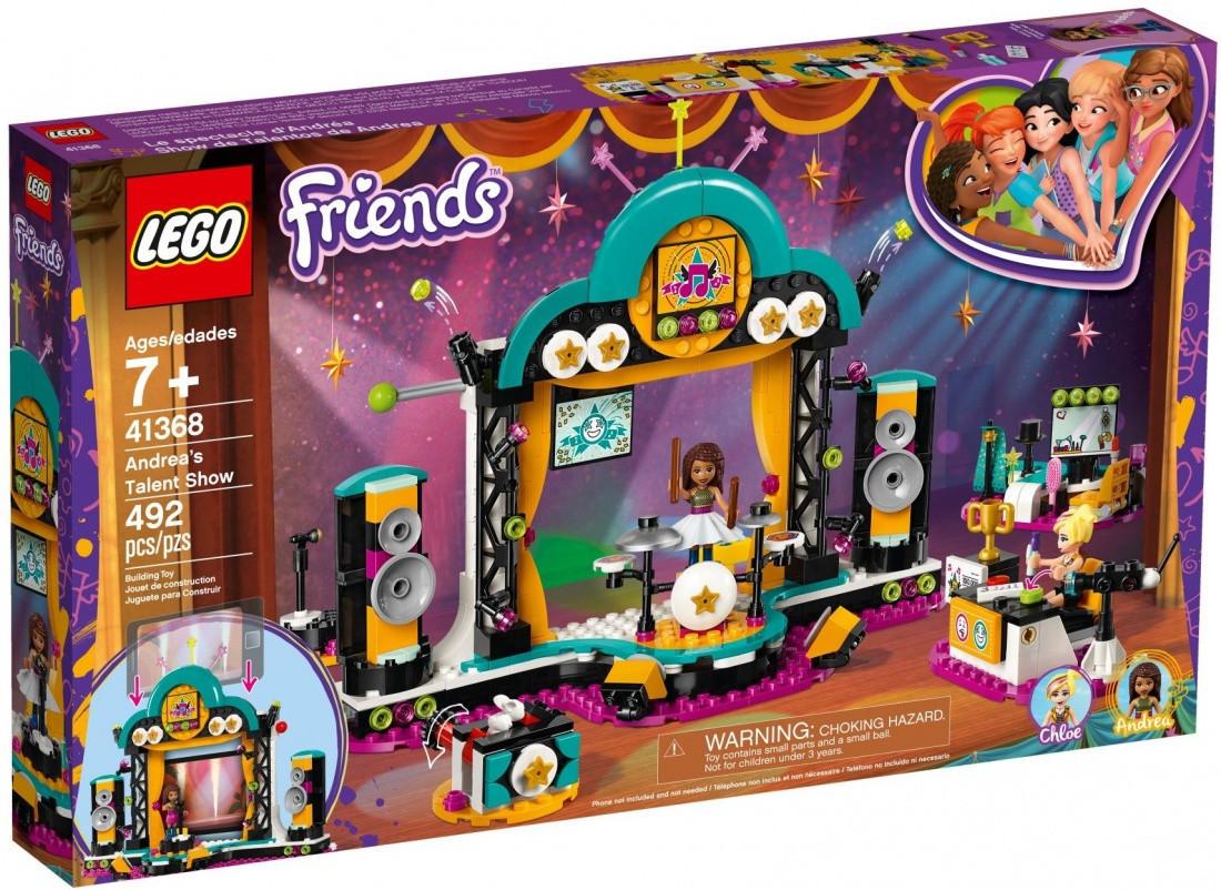41368 Lego Friends Шоу талантов, Лего Подружки