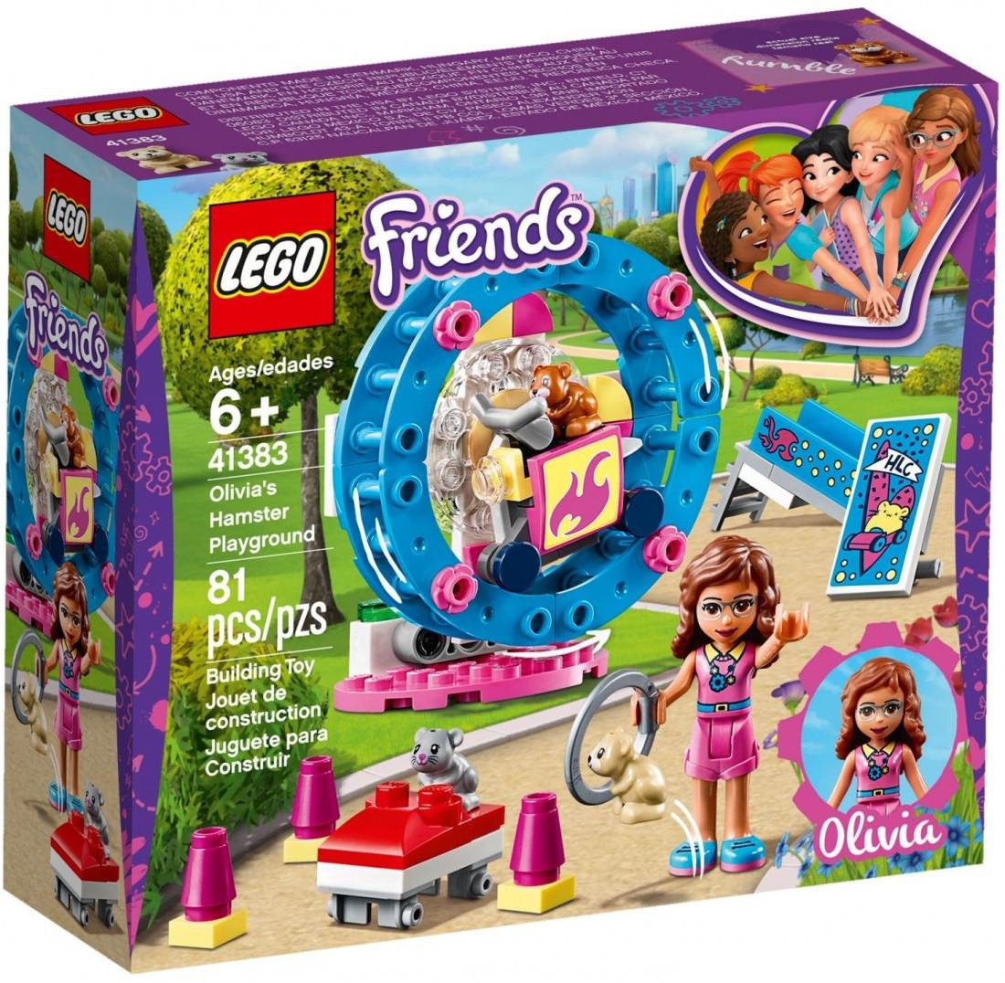 41383 Lego Friends Игровая площадка для хомячка Оливии, Лего Подружки