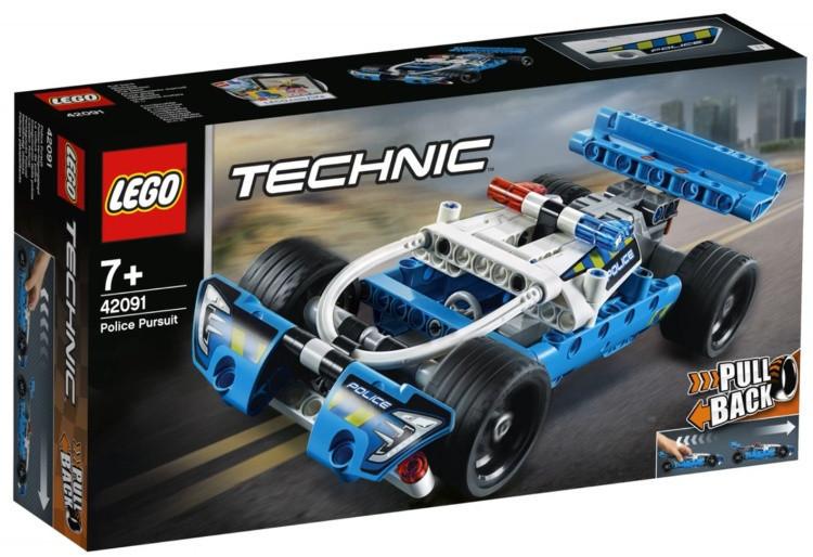 42091 Lego Technic Полицейская погоня, Лего Техник